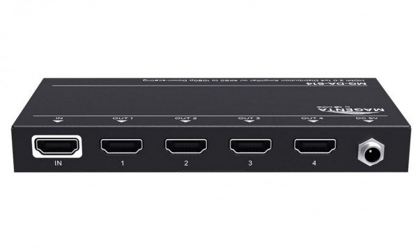 tvONE MG-DA-614 HDMI Splitter, 1x4, HDMI 2.0