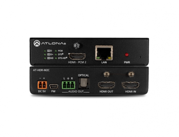 Atlona AT-HDR-M2C HDMI Audio De-Embedder