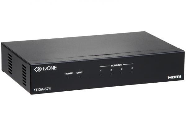 tvONE 1T-DA-674 HDMI Verteiler, 1x4
