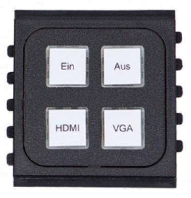 KTV Tastenmodul-4-A+H