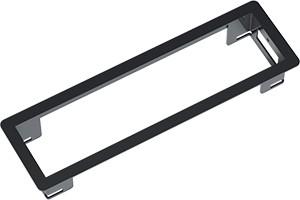 Power Frame Einbaurahmen 3-fach-schwarz