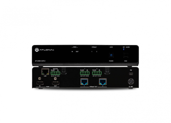 Atlona AT-UHD-CAT-2 HDMI / HDBaseT Splitter, 1 X 2