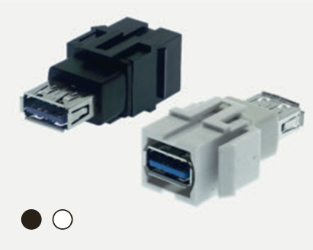 Keystone USB-A 3.0 Gender Changer